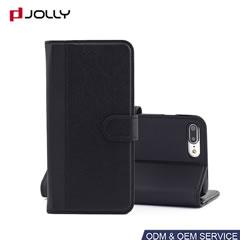 Funda flip cover con tres ranuras para iPhone 8 Plus